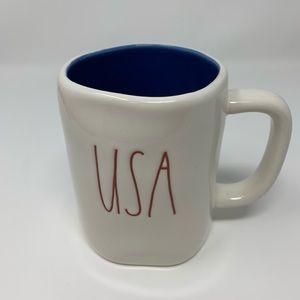 """RAE DUNN """"USA"""" mug"""